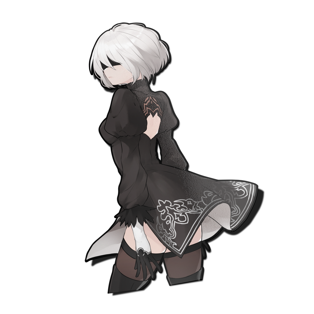 Image of 2B Half Body