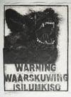 STRUCTURAL VIOLENCE WOODBLOCK - BLACK EDITION