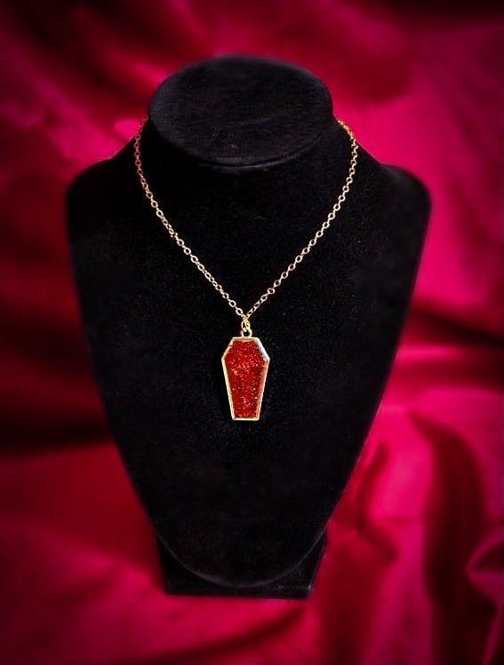 Image of My Crimson Temptress Necklace