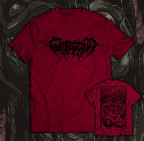 Image of GUTRECTOMY - Monster T-Shirt red