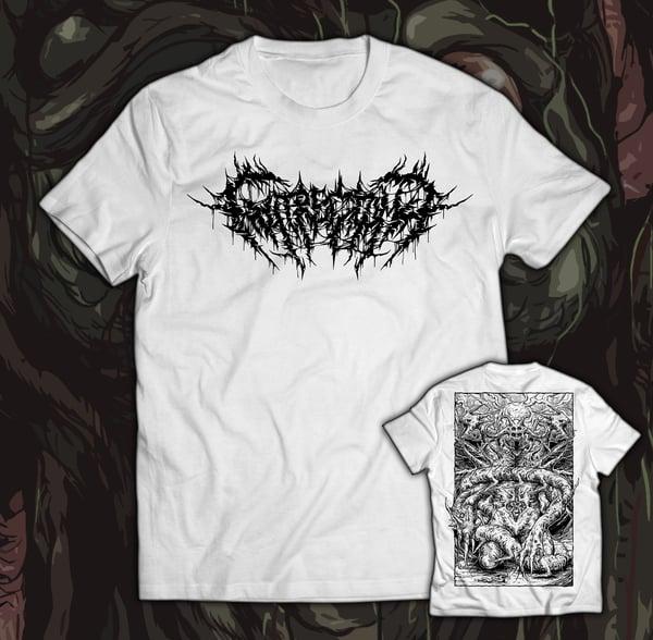 Image of GUTRECTOMY - Monster T-Shirt white