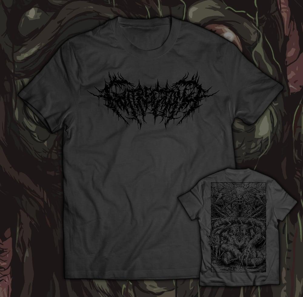 Image of GUTRECTOMY - Monster T-Shirt grey