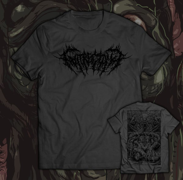 Image of GUTRECTOMY - Monster T-Shirt grey
