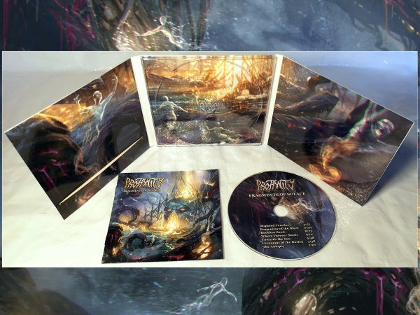 Image of PROFANITY - Fragments of Solace CD / LP
