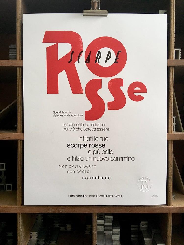 Image of SCARPE ROSSE