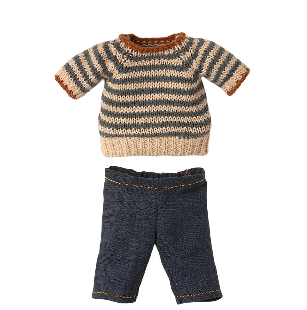 Image of Maileg - Shirt & Pants For Teddy Dad
