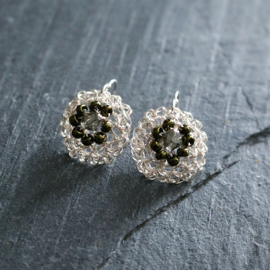 Image of PHOOL Earrings - Gypsophila