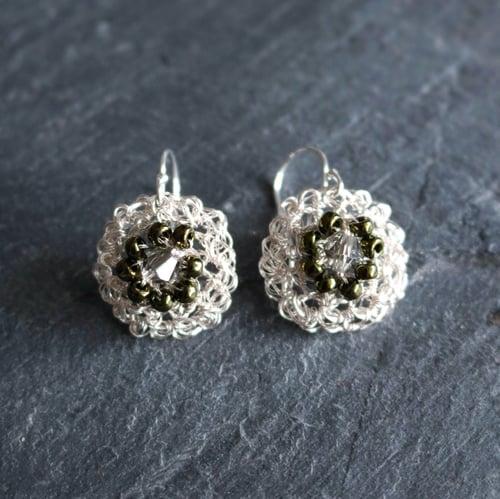 Image of PHOOL Earrings - Gypsophila