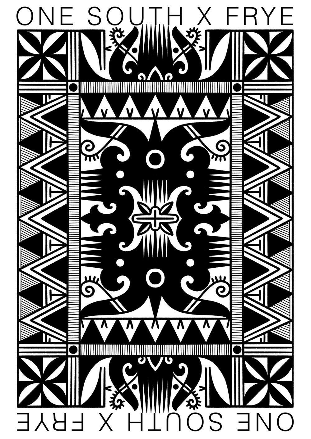 Image of Dan Frye x One South Collab Print