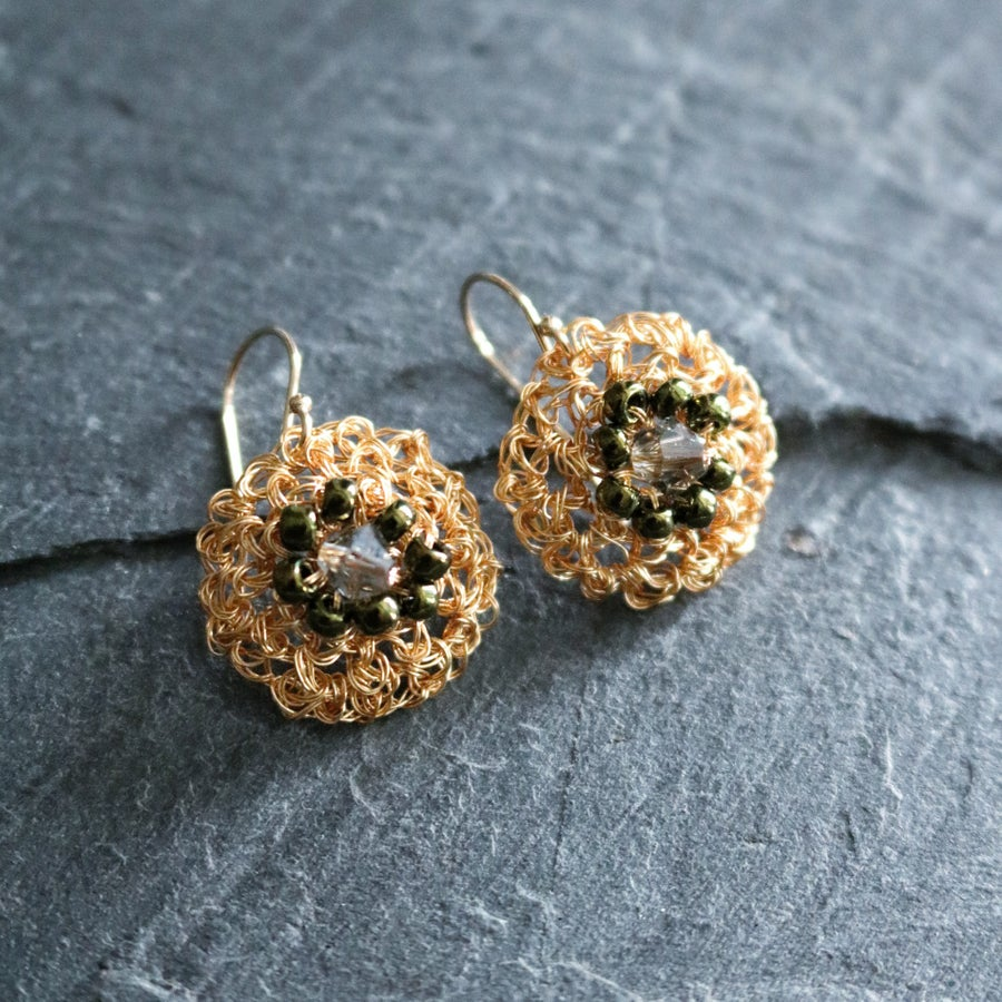 Image of PHOOL Earrings - Sunflower