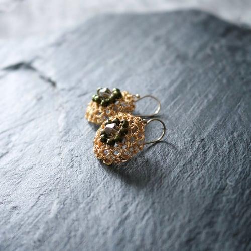 Image of PHOOL Earrings - Sunflower