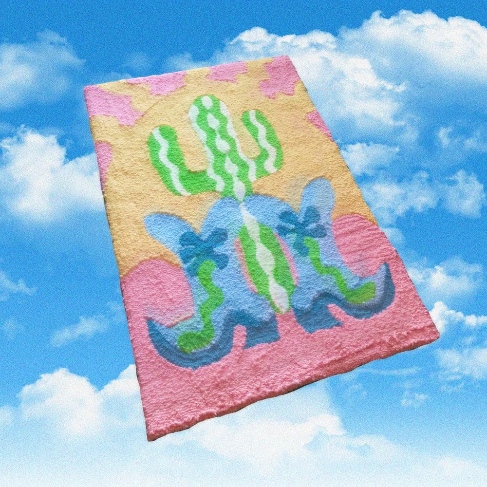Image of Texas sun rug