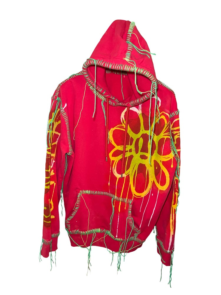 Image of THE END IS NEAR DAISY SPRING HOODIE