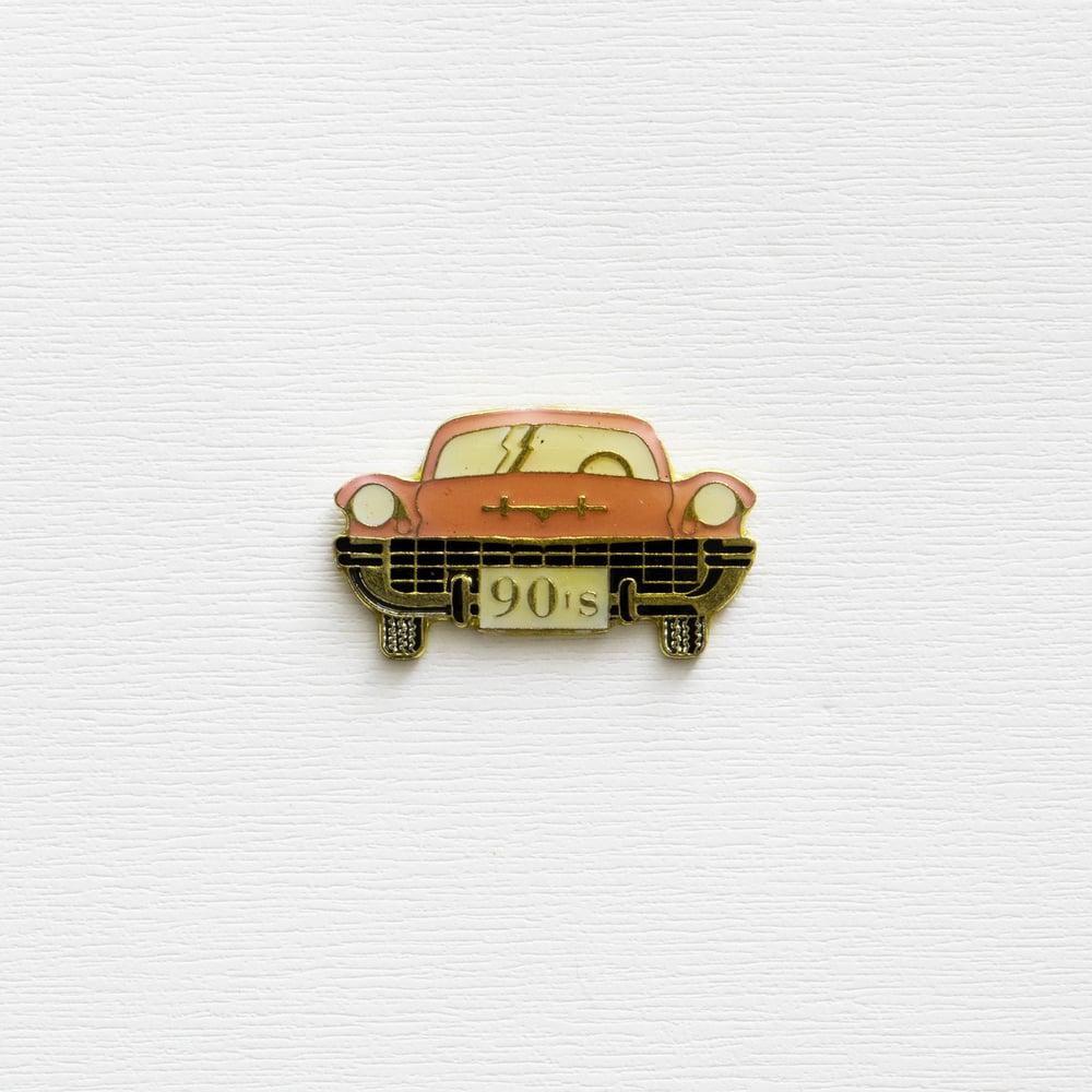 Image of Vintage Cadillac 90's Enamel Pin