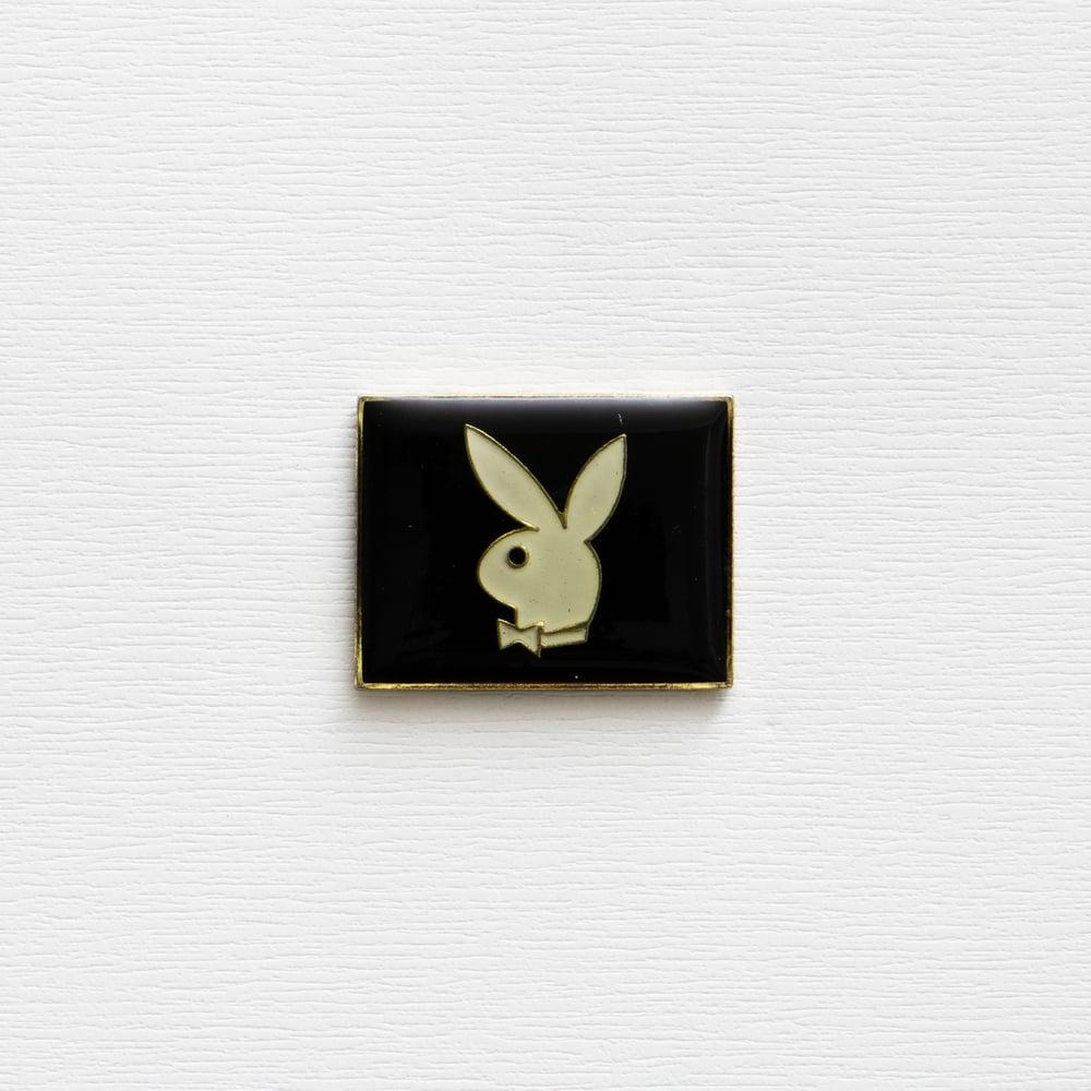Image of Vintage Playboy Enamel Pin