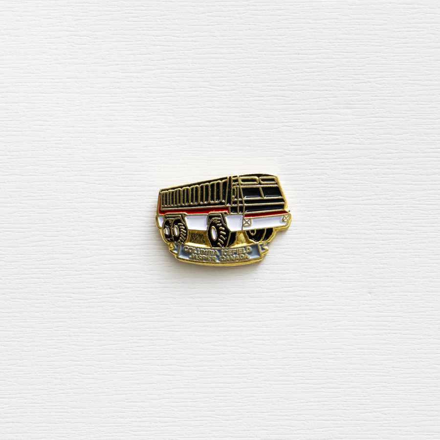 Image of Vintage Canidian Bus Company Enamel Pin