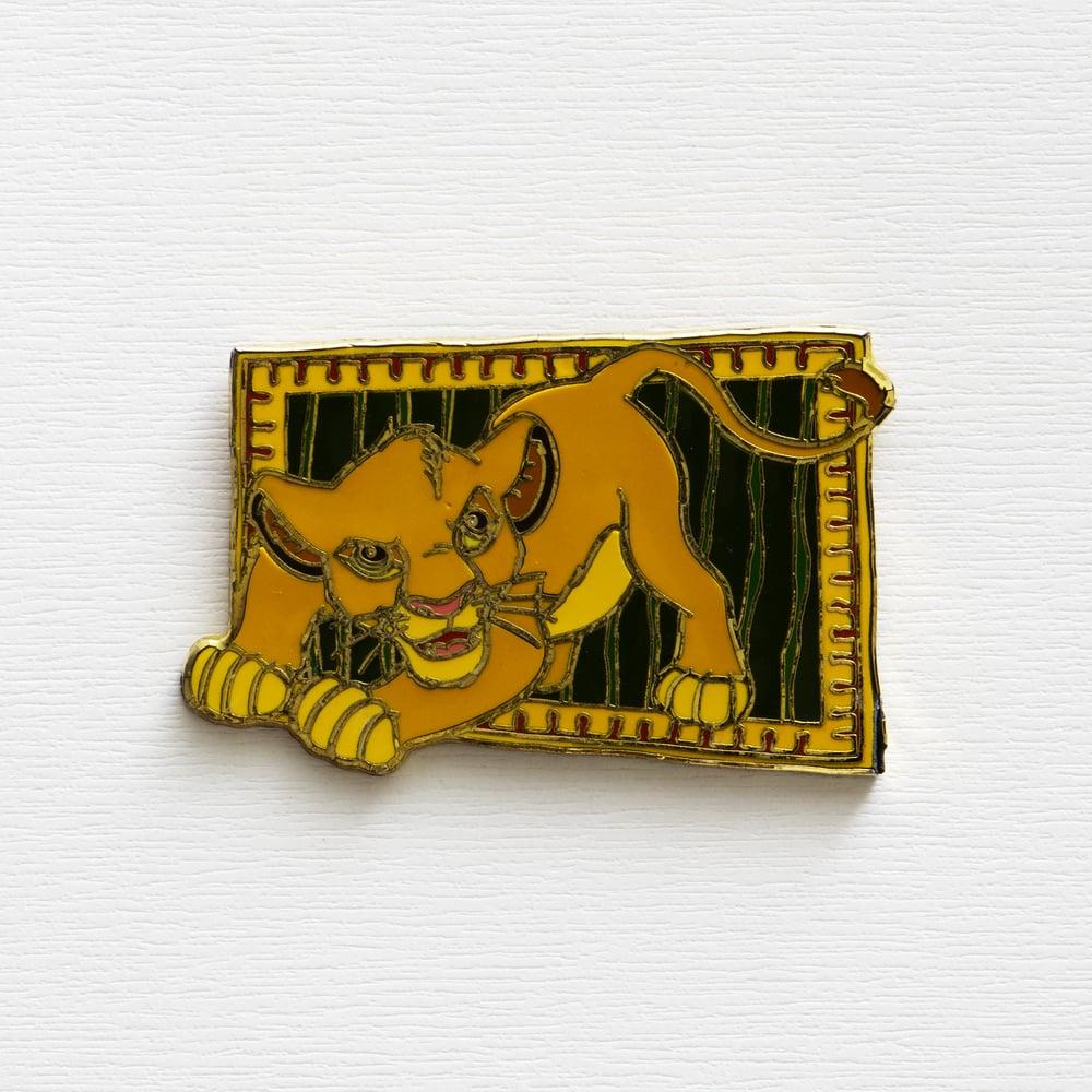 Image of Vintage Disney The Lion King Enamel Pin