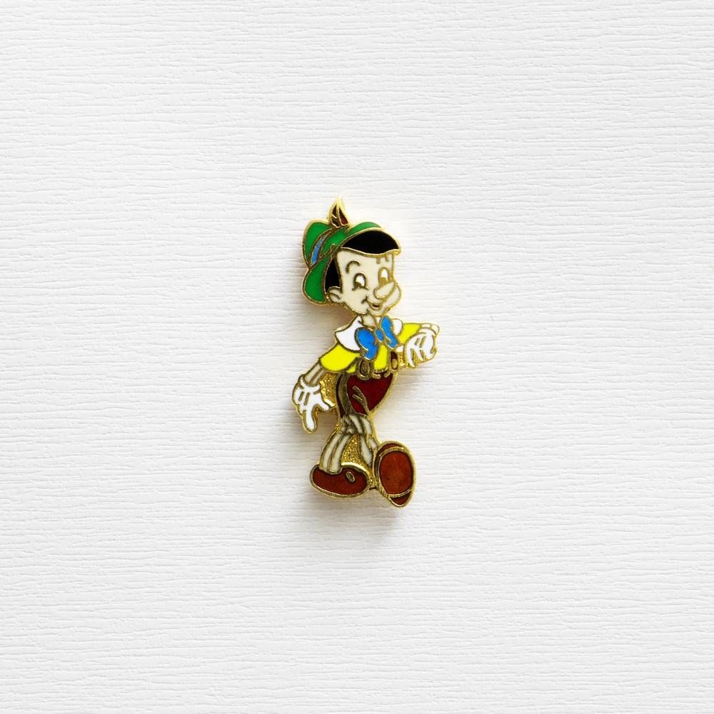 Image of Vintage Disney Pinocchio Enamel Pin