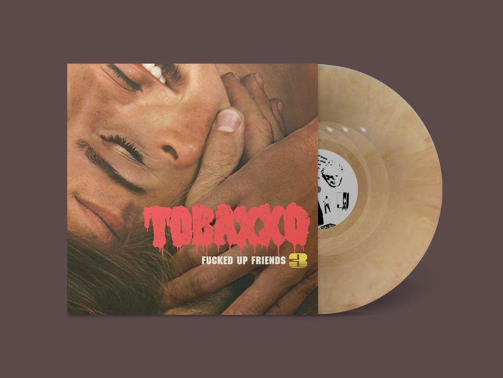 """Image of TOBACCO """"Fucked Up Friends 3"""" Tan Marble Vinyl"""