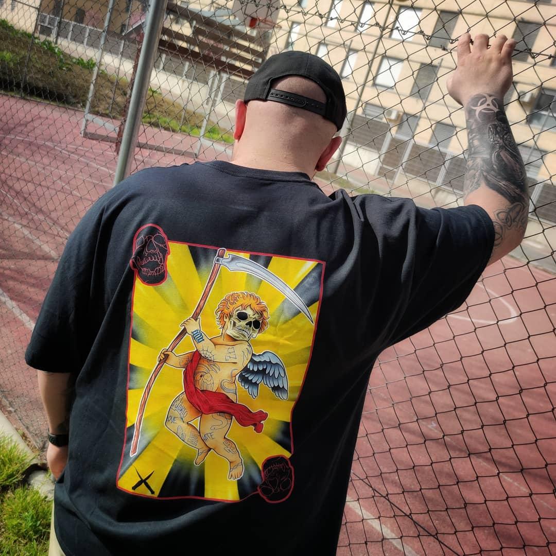 Image of Camiseta Crew Cuervos Calavera