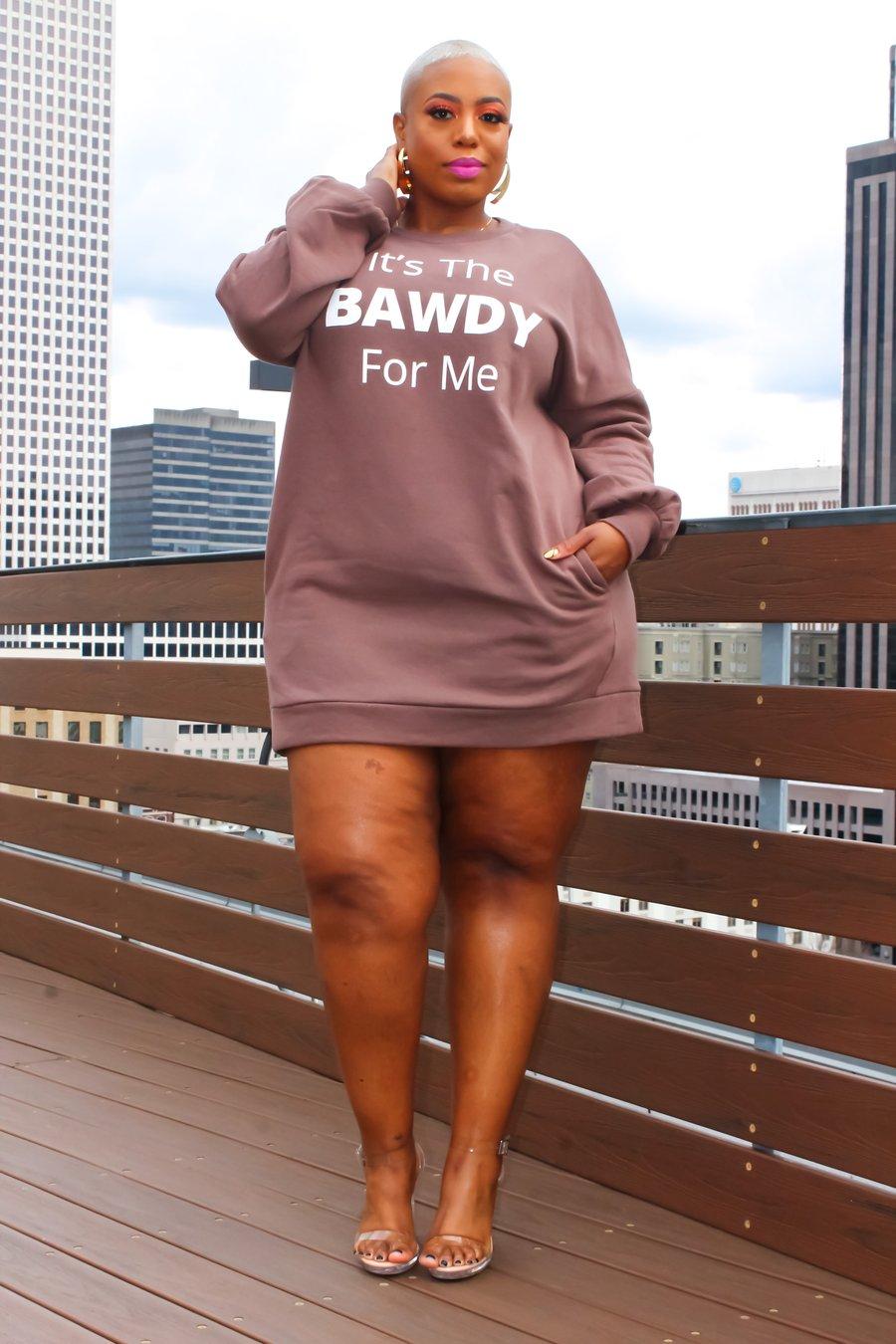 Image of Bawdy Oversized Sweatshirt