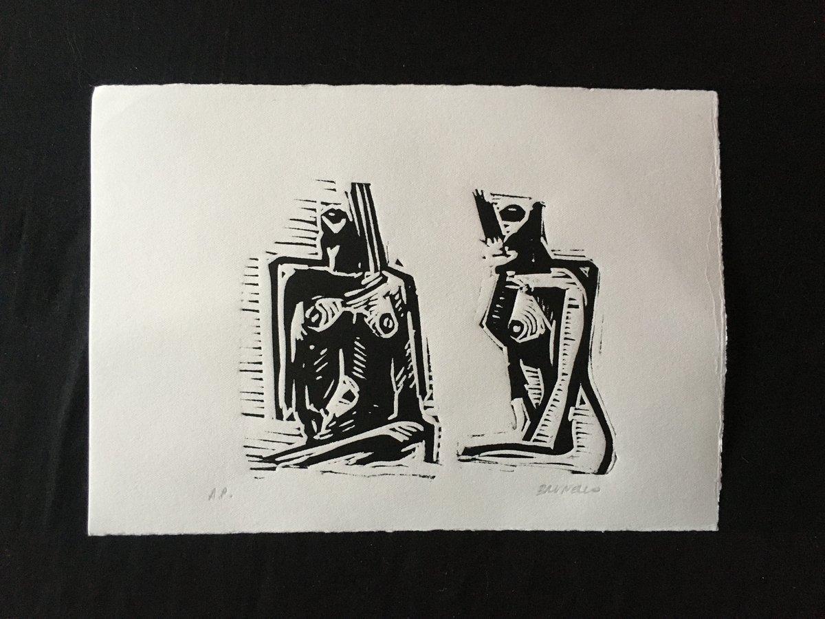 Image of Linocut 4