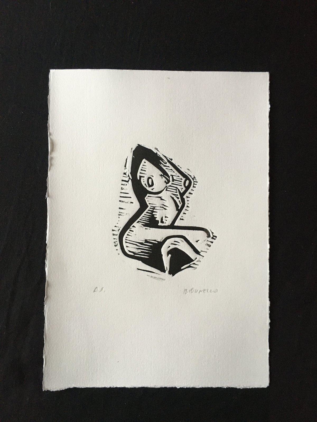 Image of Linocut 6