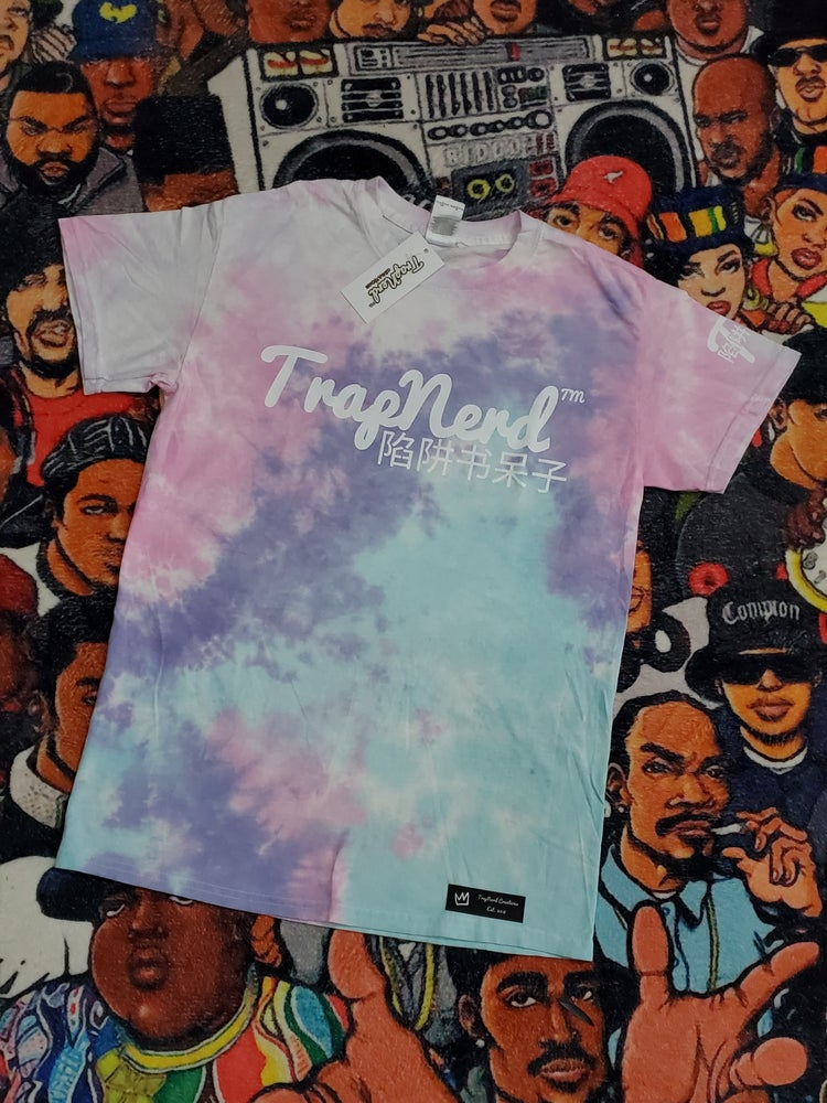 Image of Cotton Candy Tiedye Tee