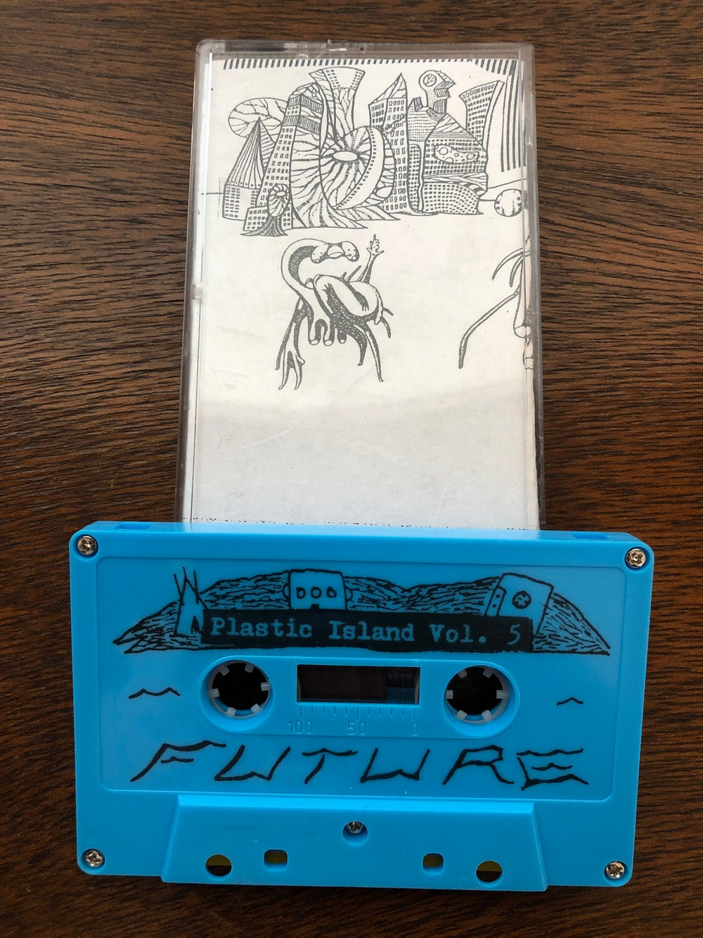"Image of Plastic Island Vol. 5 | ""Future"" punk compilation tape"