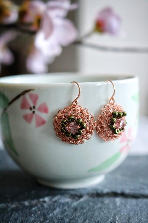 Image of PHOOL Earrings - Peach Blossom