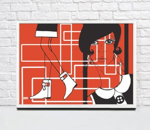 Image of RED POSTER