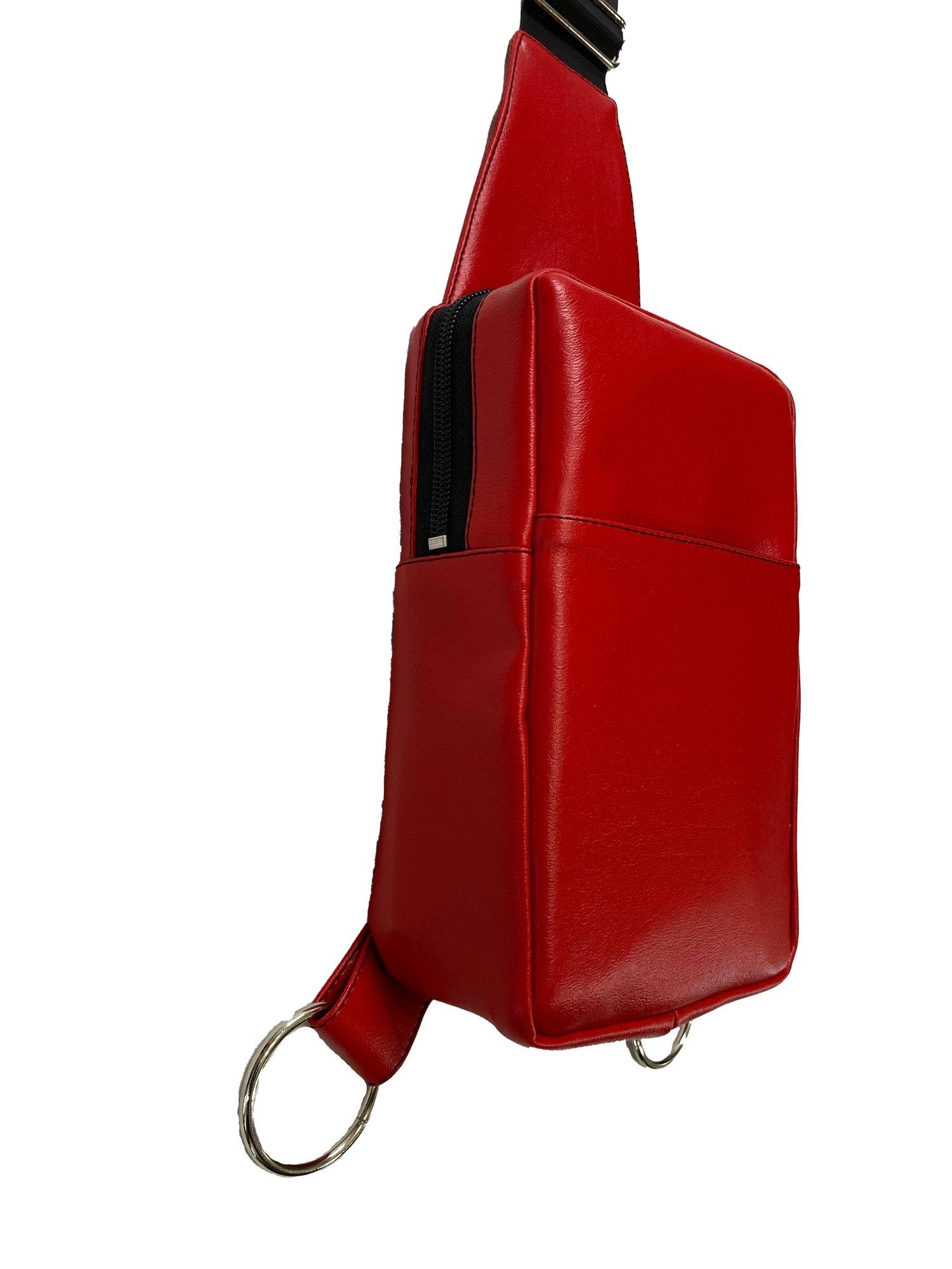 Image of Red Crossbody Bag