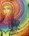 Rainbow Love Print