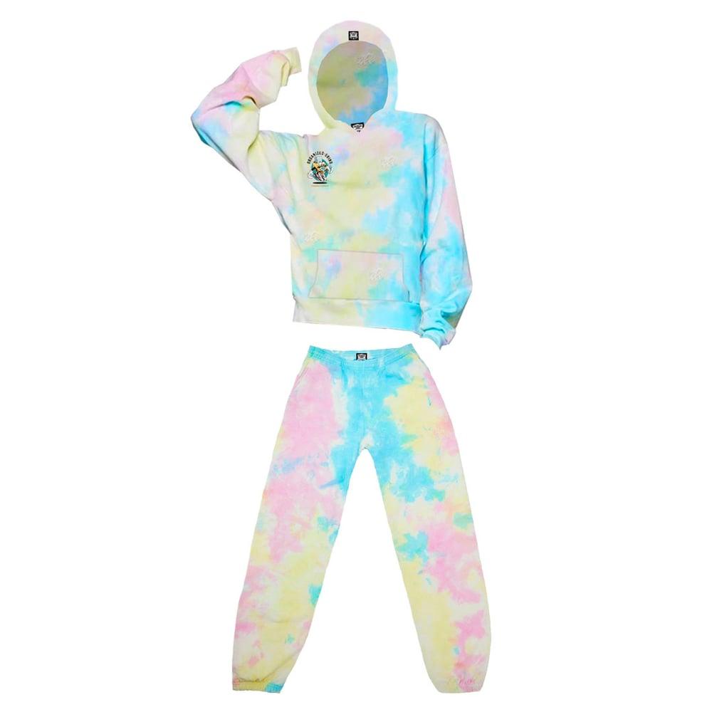 Image of New Tye Dye Sweat Suit
