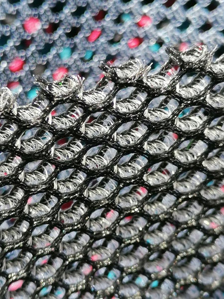 Image of TF 34 Spacer 3D Fabric, 3mm, Colour Grey, width 115cm sold by the metre
