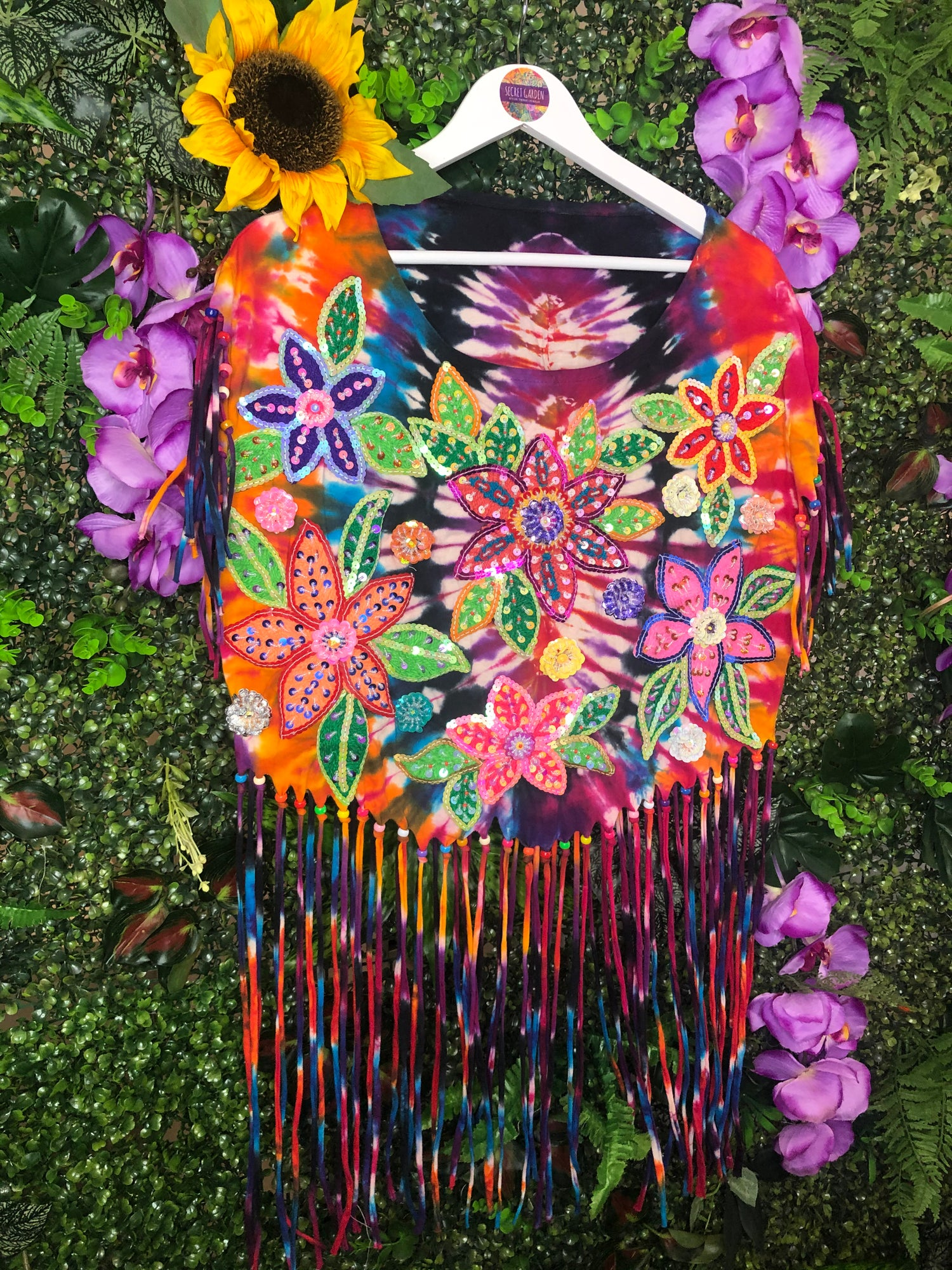 Image of Gypsy Soul Flower Power Top