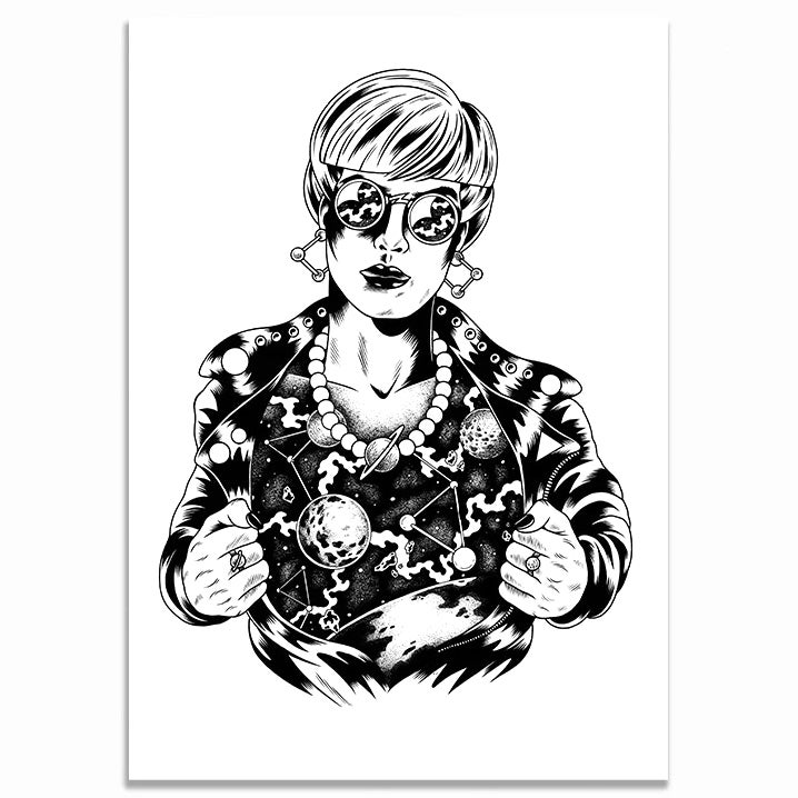 Image of COSMO Giclee Print