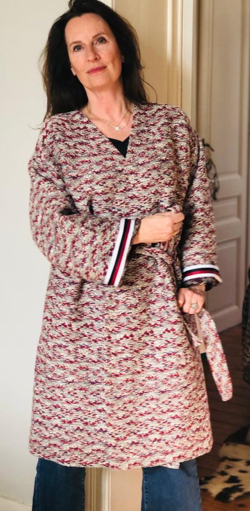 Image of Kimono Kamo rouge