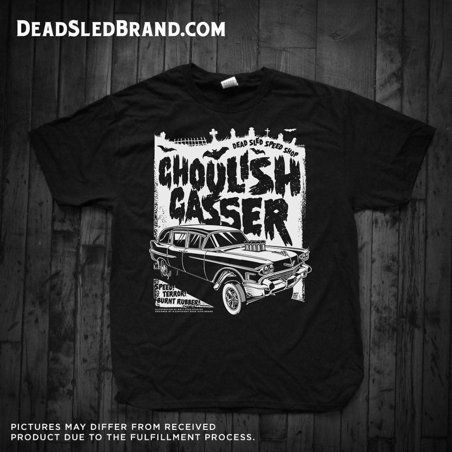 Image of Ghoulish Gasser Men's 1-Sided Tee