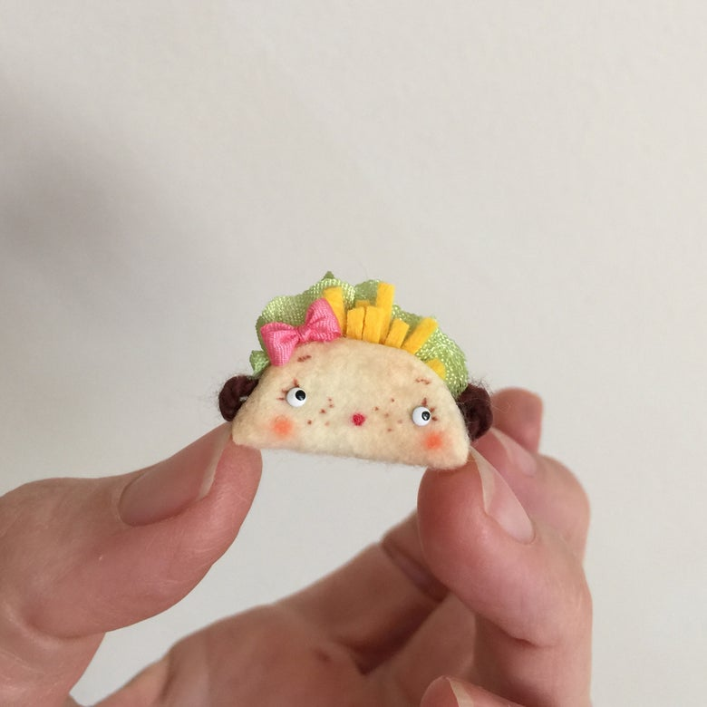 Image of Tiny Toy Taco for Dolls #2