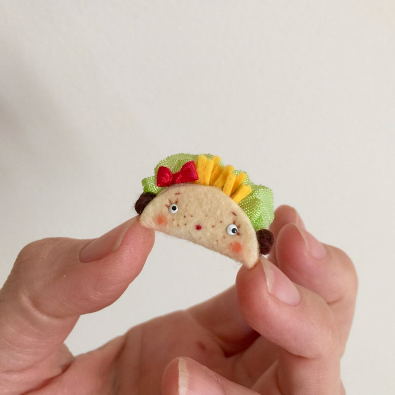 Image of Tiny Taco Toy for Dolls #3