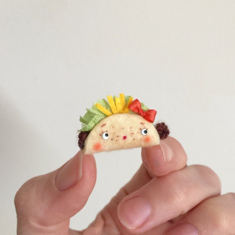 Image of Tiny Taco Toy for Dolls #4