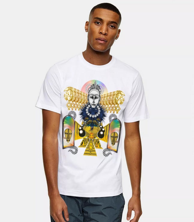 Image of African Composition Tee Shirt