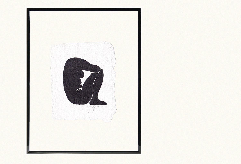 Image of Nude 01 - Original Artwork