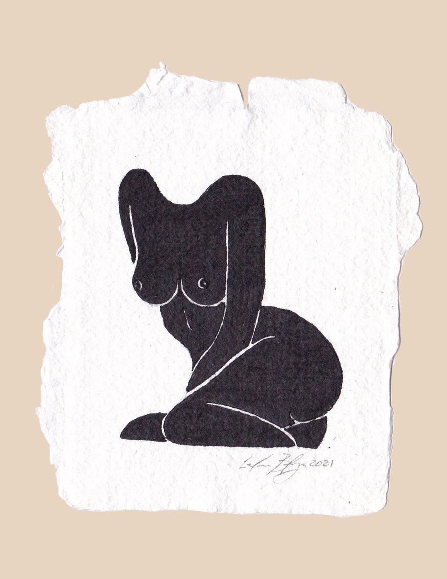 Image of Nude 02 - Original Artwork