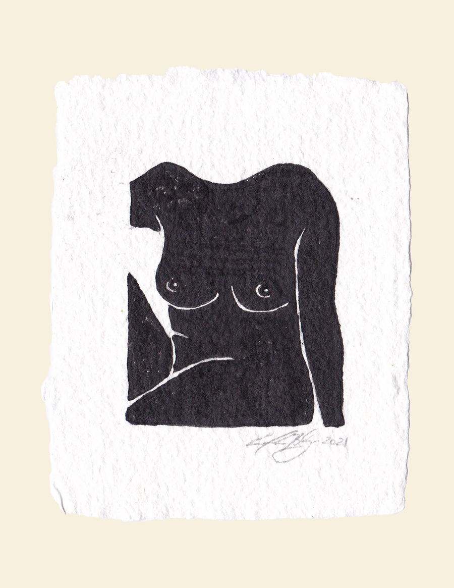 Image of Nude 04 - Original Artwork