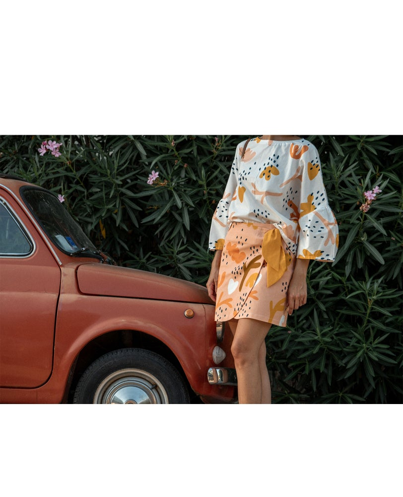 Image of Coral Blouse
