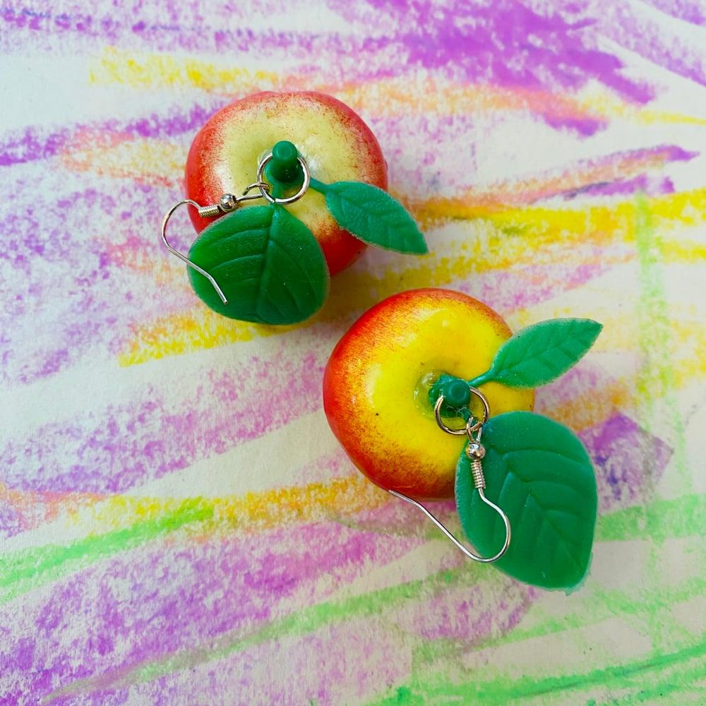 Image of PLASTIC FRUIT EARRINGS