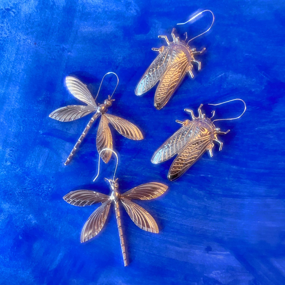 Image of INSECT EARRINGS