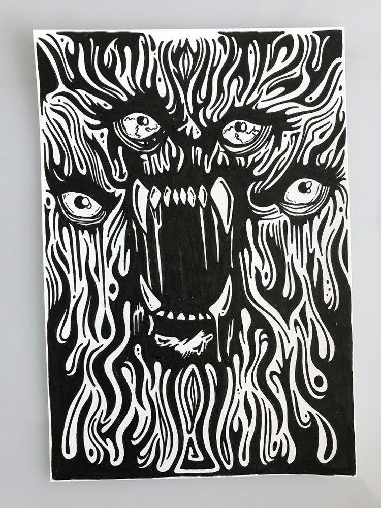 Image of With Teeth Doodle